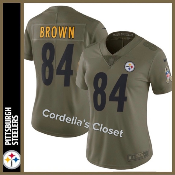 super popular 97834 1eb78 NWT! NFL Pittsburgh Steelers Salute Service Jersey